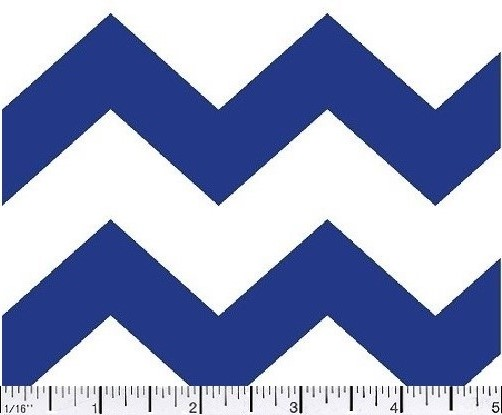 09 Chevron 1in  Royal