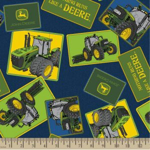 John Deere - Tossed Tractor Patches